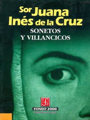 cover image of Sonetos y villancicos