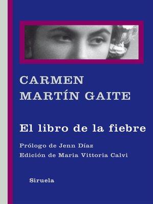 cover image of El libro de la fiebre