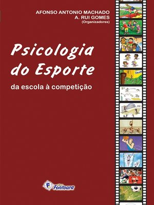 cover image of Psicologia do esporte