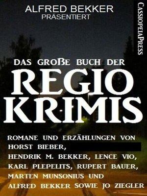 cover image of Das große Buch der Regio-Krimis