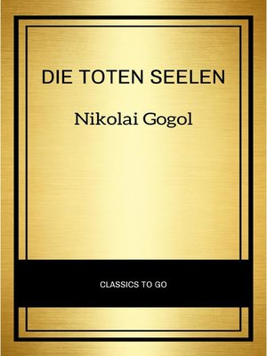 cover image of Die toten Seelen