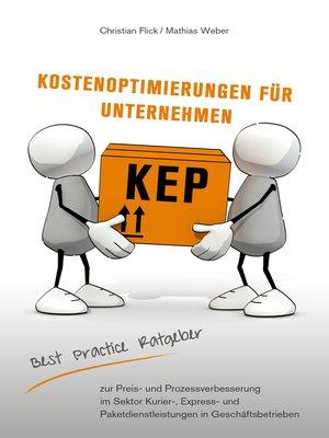 cover image of KEP Kostenoptimierungen für Unternehmen