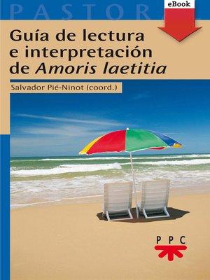 cover image of Guía de lectura e interpretación de Amor
