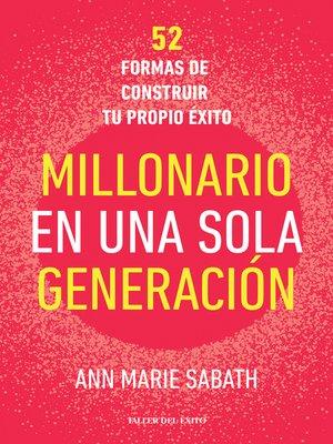 cover image of Millonario en una sola generación