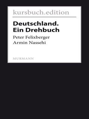 cover image of Deutschland. Ein Drehbuch