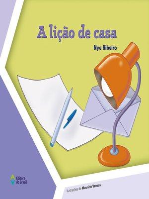 cover image of A lição de casa