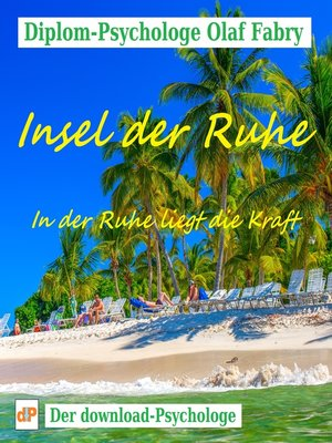 cover image of Insel der Ruhe