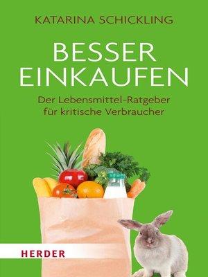 cover image of Besser einkaufen