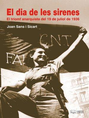 cover image of El dia de les sirenes