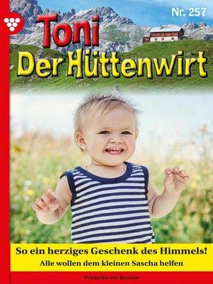 cover image of Toni der Hüttenwirt 257 – Heimatroman