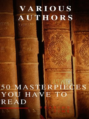 cover image of 50 Masterpieces you have to read