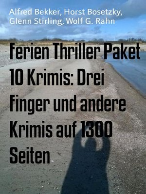 cover image of Ferien Thriller Paket 10 Krimis