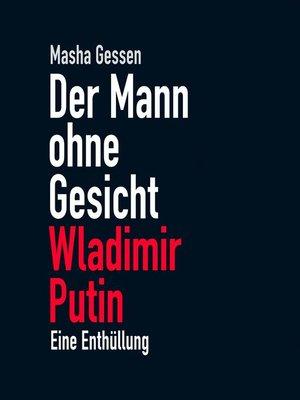 cover image of Der Mann ohne Gesicht