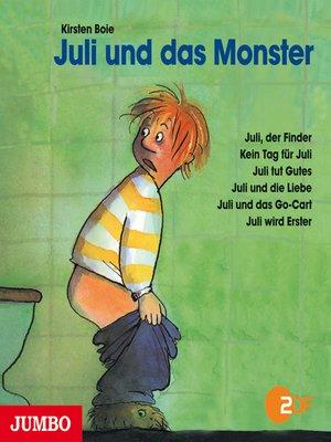 cover image of Juli und das Monster