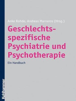 cover image of Geschlechtsspezifische Psychiatrie und Psychotherapie