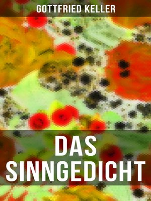 cover image of Das Sinngedicht