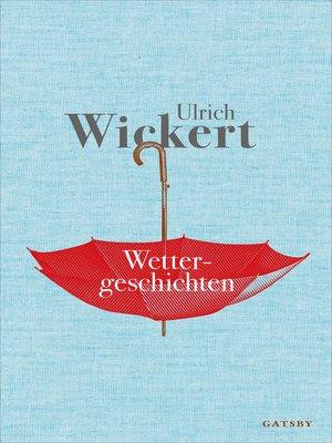 cover image of Wettergeschichten