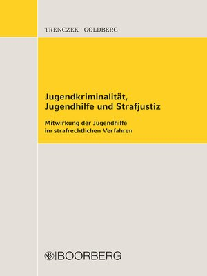 cover image of Jugendkriminalität, Jugendhilfe und Strafjustiz