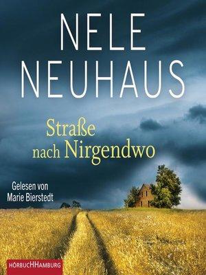 cover image of Straße nach Nirgendwo