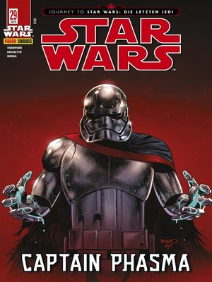 cover image of Star Wars, Comicmagazin 29--Captain Phasma