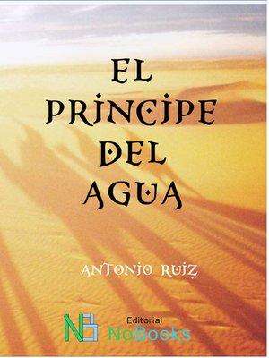 cover image of El príncipe del agua