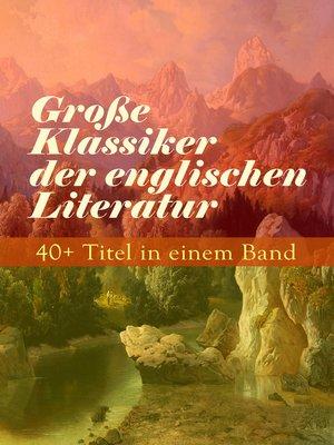 cover image of Große Klassiker der englischen Literatur