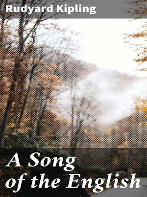 cover image of A Song of the English