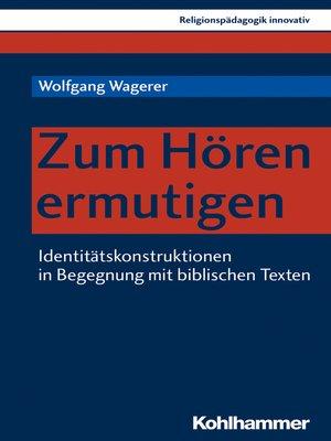 cover image of Zum Hören ermutigen