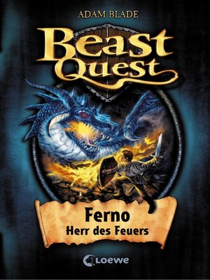 cover image of Beast Quest 1--Ferno, Herr des Feuers