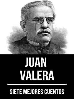cover image of 7 mejores cuentos de Juan Valera