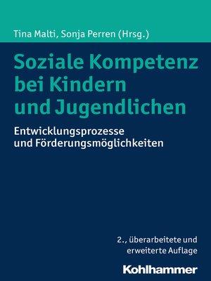 cover image of Soziale Kompetenz bei Kindern und Jugendlichen