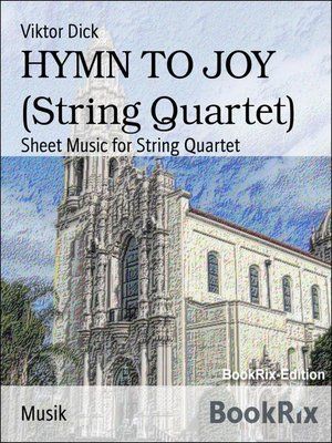 cover image of HYMN TO JOY (String Quartet)