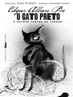 cover image of O gato preto e outros contos de terror