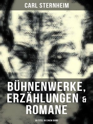 cover image of Carl Sternheim