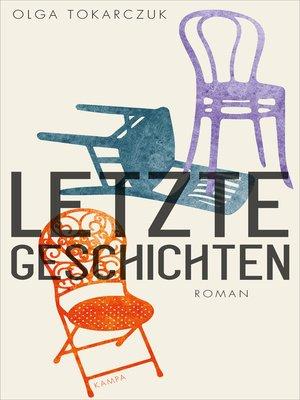 cover image of Letzte Geschichten