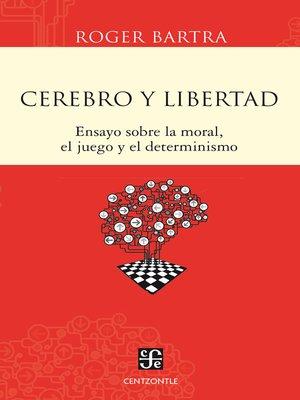 cover image of Cerebro y libertad