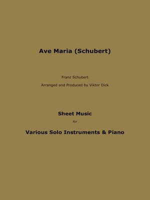 cover image of Ave Maria (Schubert)
