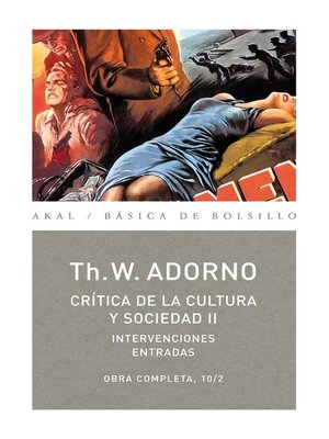 cover image of Crítica de la cultura y sociedad II