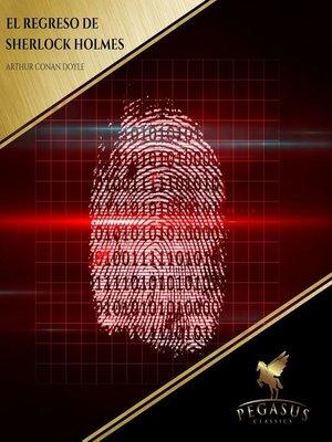 cover image of El regreso de Sherlock Holmes