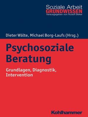 cover image of Psychosoziale Beratung