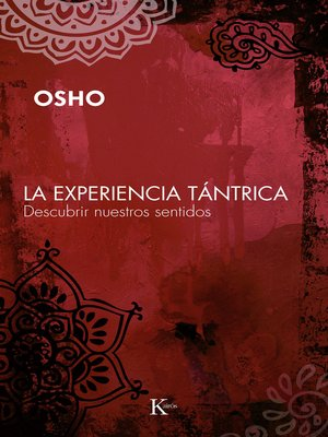 cover image of La experiencia tántrica
