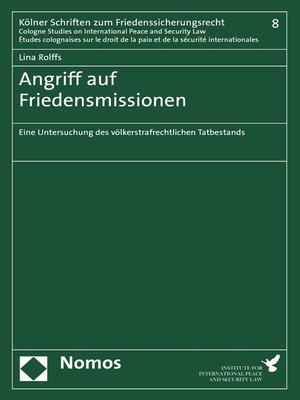 cover image of Angriff auf Friedensmissionen