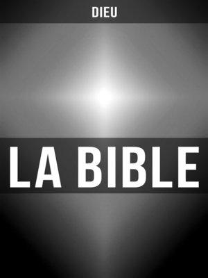 cover image of La Bible