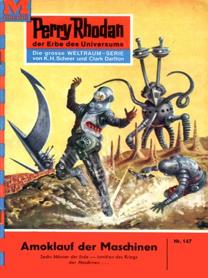 cover image of Perry Rhodan 147