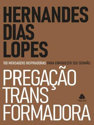 cover image of Pregação transformadora