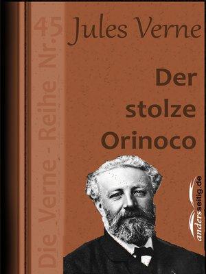 cover image of Der stolze Orinoco