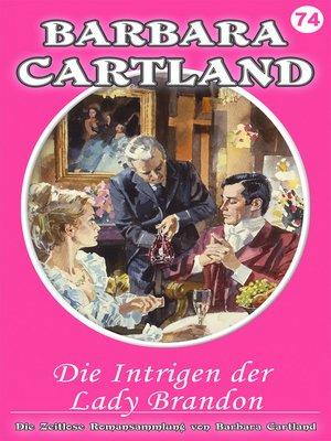 cover image of Die Intrigen der Lady Brandon
