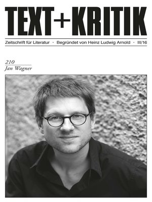 cover image of TEXT+KRITIK 210