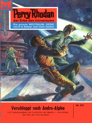 cover image of Perry Rhodan 221