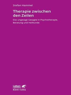 cover image of Therapie zwischen den Zeilen